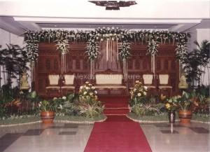 Gebyok Pengantin GJ 05 Gebyok Ukiran Dekorasi Perkawinan