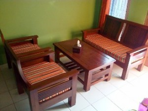 Kursi Tamu Minimalis Salur KT- 21 | Kursi Tamu Jati | Alexaviera Furniture
