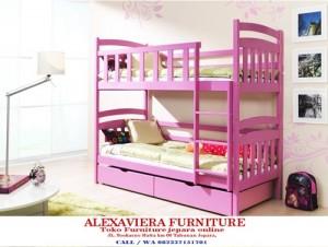 Set Tempat Tidur Anak Perempuan Tingkat Terbaru