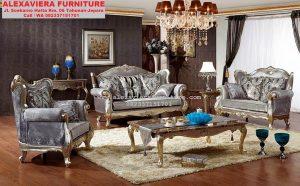 Kursi Sofa Ruang Keluarga Klasik Terbaru KT-053