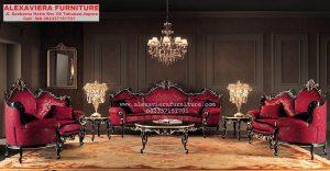 Kursi Sofa Tamu Set Modern Klasik Mewah Terbaru KT-060