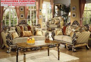 Set Kursi Sofa Tamu Klasik Terbaru Ukiran Murah KT-040