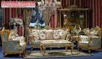 Set Kursi Sofa Tamu Klasik Terbaru Ukiran Murah KT-061