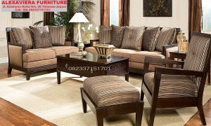 Set Kursi Sofa Tamu Minimalis Terbaru Klasik Mewah KT-038