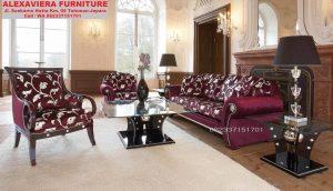 Set Sofa Ruang Tamu Klasik Eropa Murah Mewah KT-047