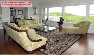 Set Sofa Ruang Tamu Terbaru Modern Minimalis Kayu KT-066