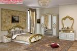 Set Tempat Tidur Duco Terbaru Gold Kerang SKT-023