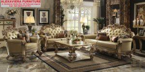 Sofa Ruang Keluarga Mebel Jepara Terbaru KT-057
