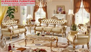 Sofa Ruang Keluarga Mewah Terbaru KT-049