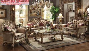 Sofa Ruang Keluarga Minimalis Mewah Vendome KT-050