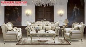 Sofa Set Ruang Tamu Klasik Eropa Murah Modern KT-068