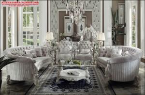 Set Sofa Ruang Tamu Liberty Mewah Terbaru KT-084