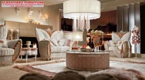 Set Sofa Tamu Mebel Jepara Terbaru Mewah Royal KT-076