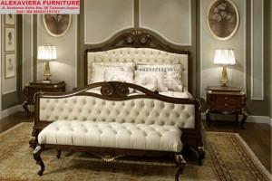 Set Tempat Tidur Klasik Jepara Antik Kerang SKT-027