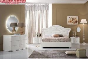 Set Tempat Tidur Minimalis Terbaru Putih Duco SKT-040, Jual Set Tempat Tidur Minimalis Terbaru Putih Duco, Dipan, Jual Set Kamar Tidur Minimalis Terbaru Putih Duco