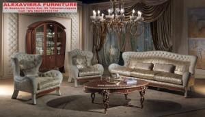 Sofa Set Ruang Tamu Klasik Mewah Luxury Terbaru Venity KT-072