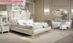 Tempat Tidur Set Mebel Klasik Cinderella SKT-052