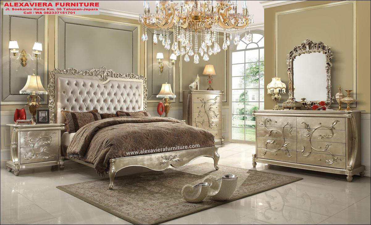 kamar set terbaru ukiran mewah jepara mebel skt-070, desain kamar