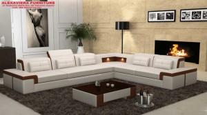 Sofa Tamu Sudut Minimalis Modern Mewah Terbaru Kekinian KT-096, Sofa Tamu Minimalis Kekinian, Jual Set Sofa Tamu Minimalis Modern