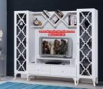 model bufet dan rak tv minimalis duco putih mebel jepara bj-021