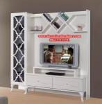 rak tv duco kayu model minimalis mewah modern bj-020