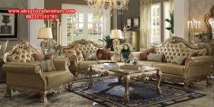 Set sofa tamu nigel eropa mewah modern klasik model terbaru kt-129