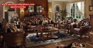sofa tamu klasik modern kt-122