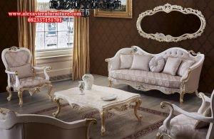 sofa ruang tamu modern klasik duco mewah arrion model terbaru kt-139