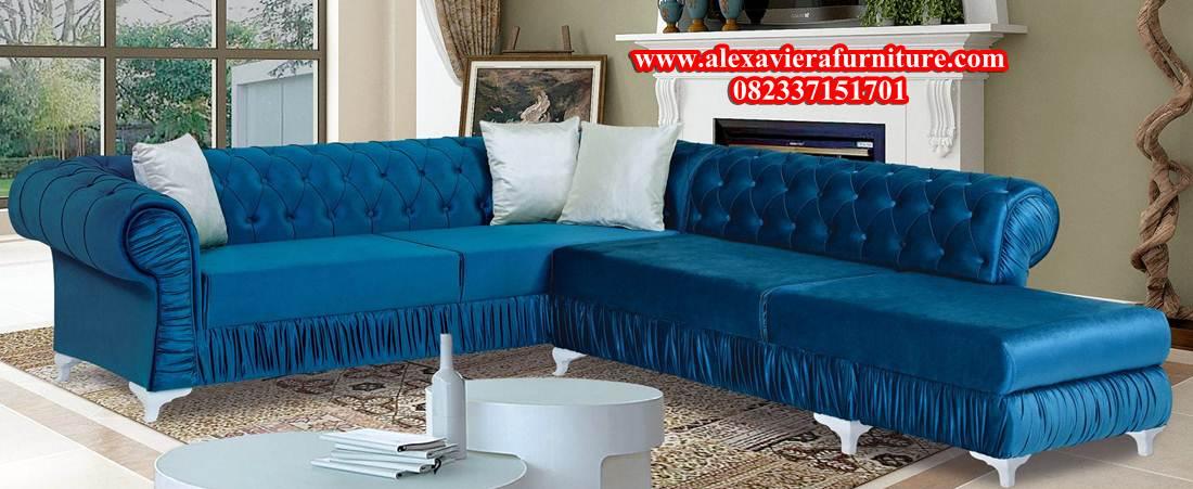 Sofa Tamu Sudut Minimalis Alea Kt 136 Alexaviera Furniture