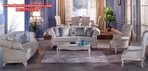set sofa ruang tamu modern minimalis mewah model terbaru klasik jepara kt-170