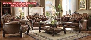 set kursi tamu klasik kt-174, set sofa tamu klasik, sofa ruang tamu klasik