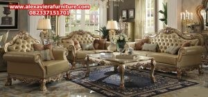 set kursi tamu klasik mewah kt-175, set sofa tamu klasik mewah, sofa ruang tamu klasik mewah