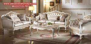 set kursi tamu klasik modern kt-176, set sofa tamu klasik modern, sofa ruang tamu klasik modern
