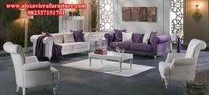 set sofa ruang tamu salom modern minimalis mewah model terbaru kt-189
