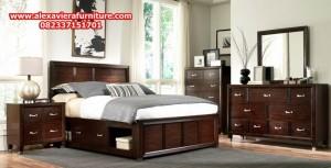 set tempat tidur jati minimalis klasik antik model terbaru jepara skt-112