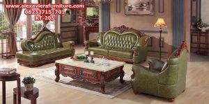 set kursi tamu mewah klasik ukiran jepara model terbaru sofa ruang keluarga kt-205