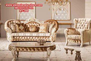 set sofa ruang tamu mewah model terbaru modern kyla kt-200