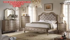 set tempat tidur klasik terbaru minimalis jepara skt-118