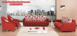 sofa ruang tamu modern minimalis fungki model terbaru kt-192