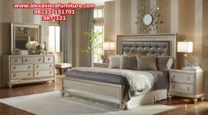 model set tempat tidur minimalis modern duco mewah terbaru skt-121