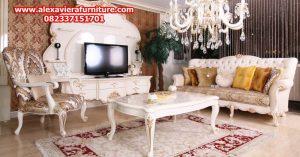 set sofa tamu buse klasik modern minimalis mewah model terbaru duco jepara kt-225