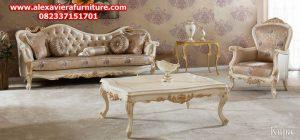set sofa tamu kupa klasik modern mewah ukiran jepara model terbaru eropa kt-231