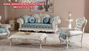set sofa tamu leydi klasik mewah modern model terbaru ukiran jepara kt-232
