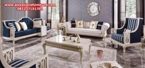 set sofa tamu minimalis klasik marygold modern mewah model terbaru jepara ukiran kt-233