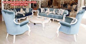 sofa tamu damla minimalis modern kayu jepara model terbaru kt-223