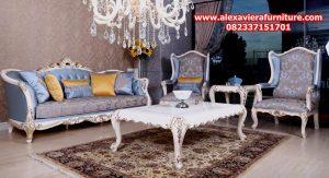 model set sofa tamu klasik modern ruya ukiran jepara duco mewah model terbaru kt-245