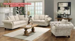 set sofa tamu minimalis modern willow model terbaru mewah rangka kayu kt-246