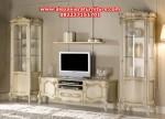 set bufet tv scapini duco putih modern mewah ah-157