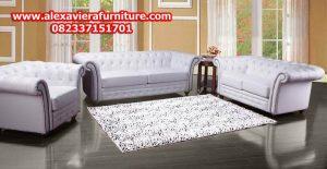 jual set sofa tamu minimalis mewah model terbaru kt-268