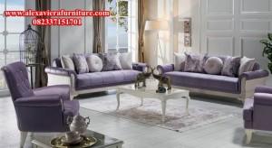 jual set sofa tamu minimalis modern duco putih model terbaru kt-260